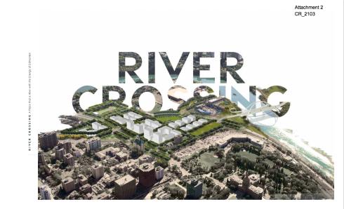 River Crossing c/o the City of Edmonton. http://sirepub.edmonton.ca/sirepub/cache/2/2p5cija5syofrcl25cqvy4l1/42331404282015041014939.PDF